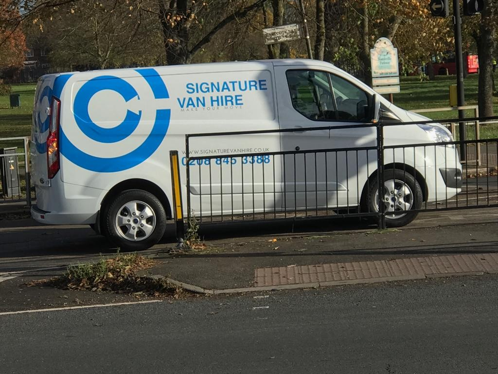 Have you seen Signature Vans out and about in Heathrow?