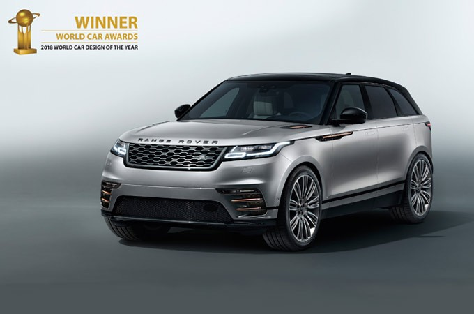 The most beautiful car in the World is announced as the Range Rover Velar
