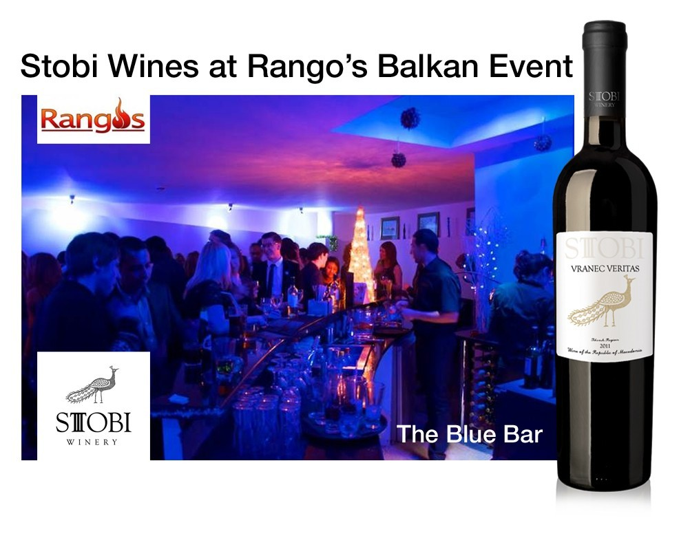 Stobi Wines Presents its Range of Macedonian Wines at Balkan Event in London