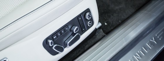 bentley flying spur controls for seat