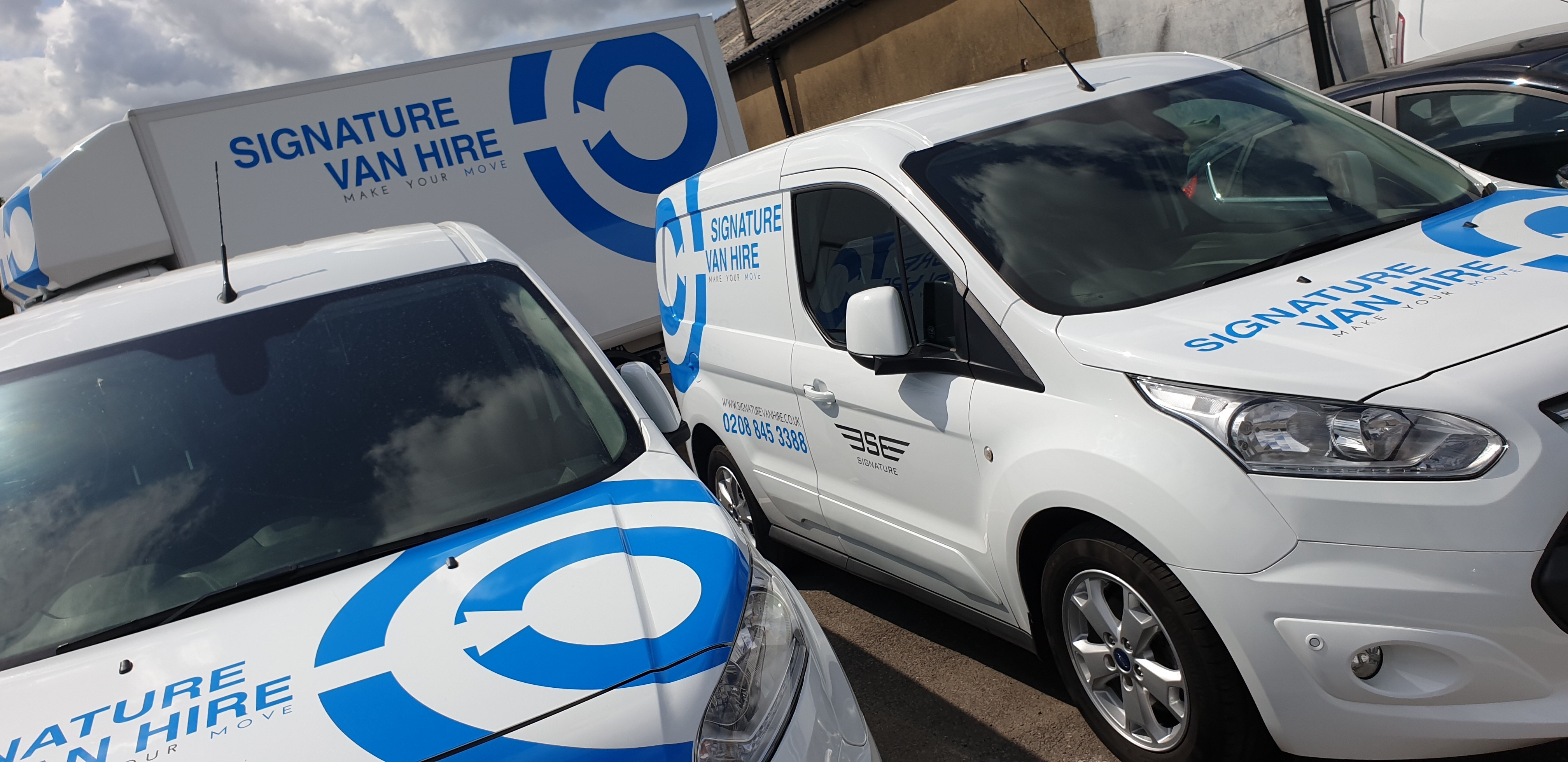 Want to rent a van for short-term or long-term basis? Call Signature Van Hire