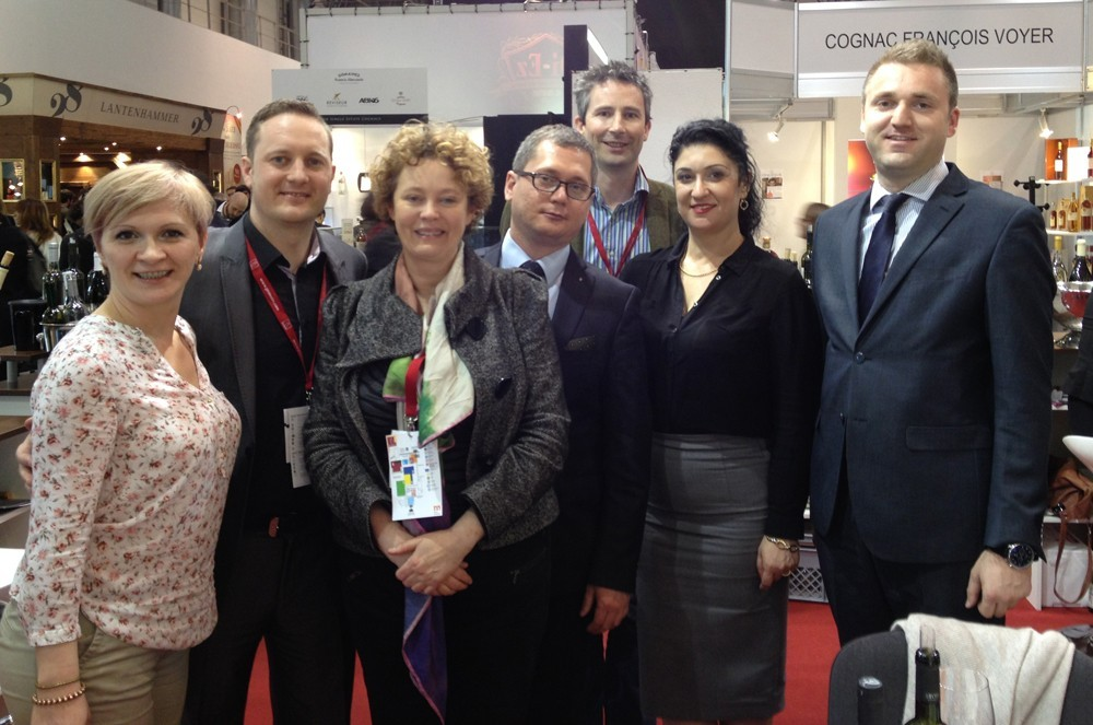 Stobi Gets a Great Reaction at ProWein 2014