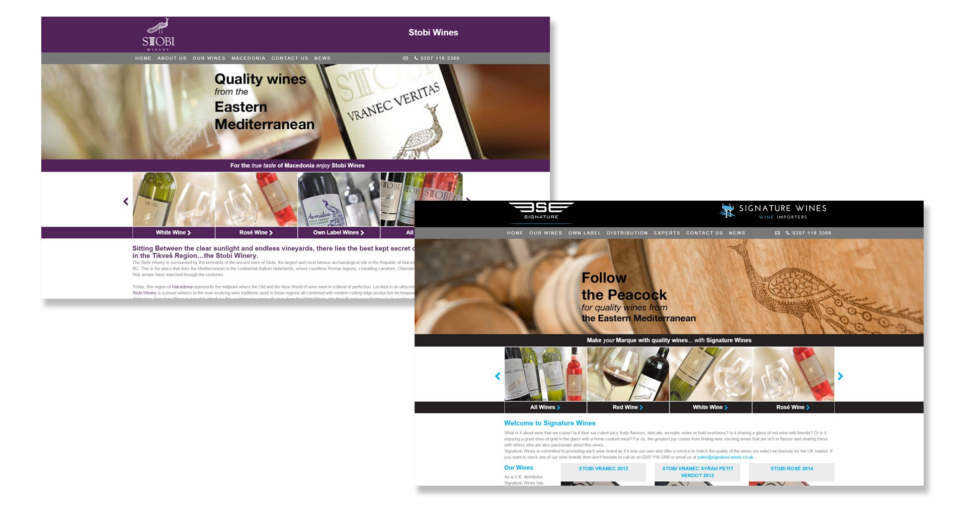 New Look Wine Websites Go Live