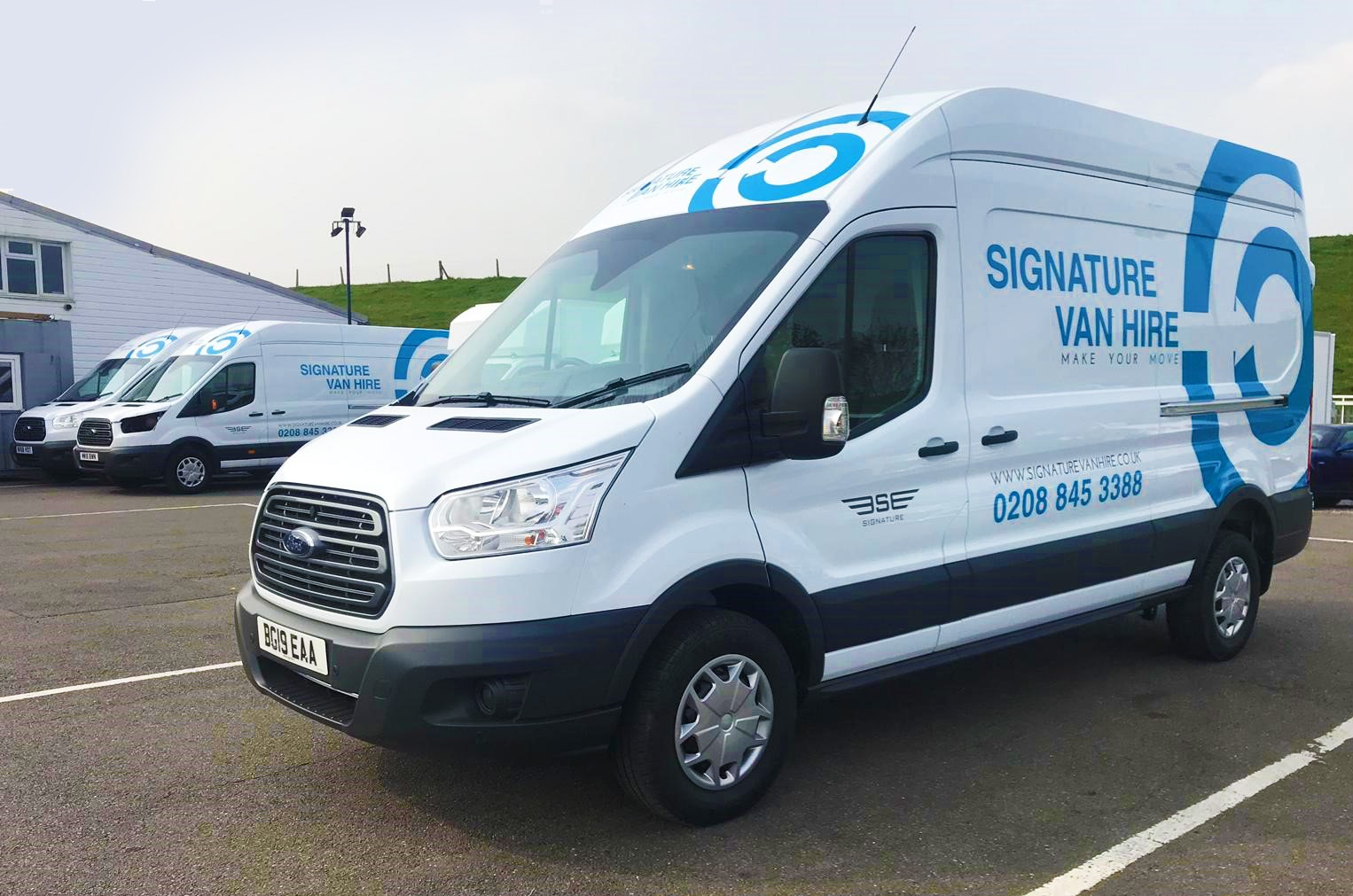 New Rental Vans get branded at Signature