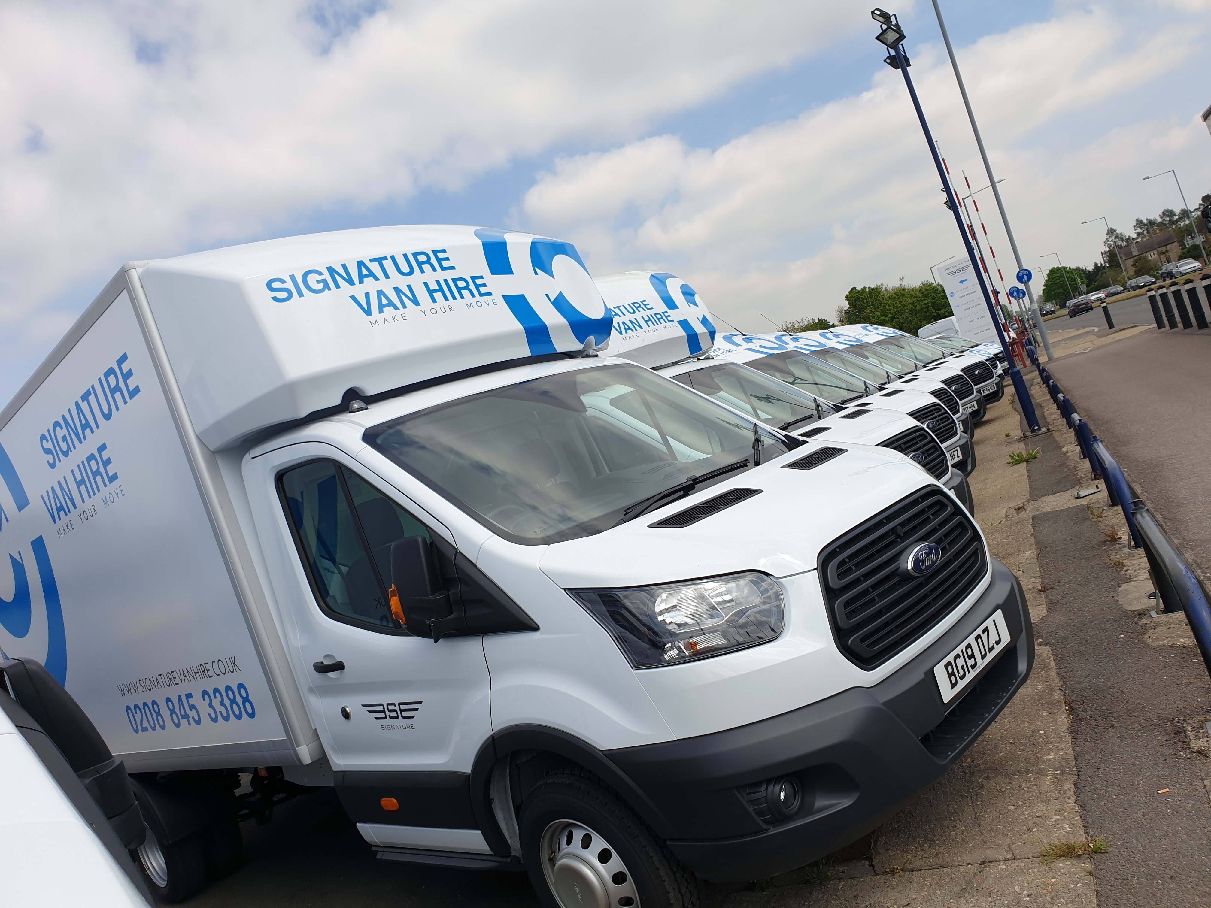 Our 19 Plate Rental Vans get new Livery