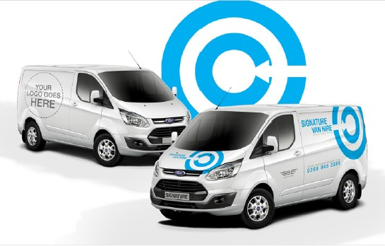 Personalise Your Van Hire with your own Compa