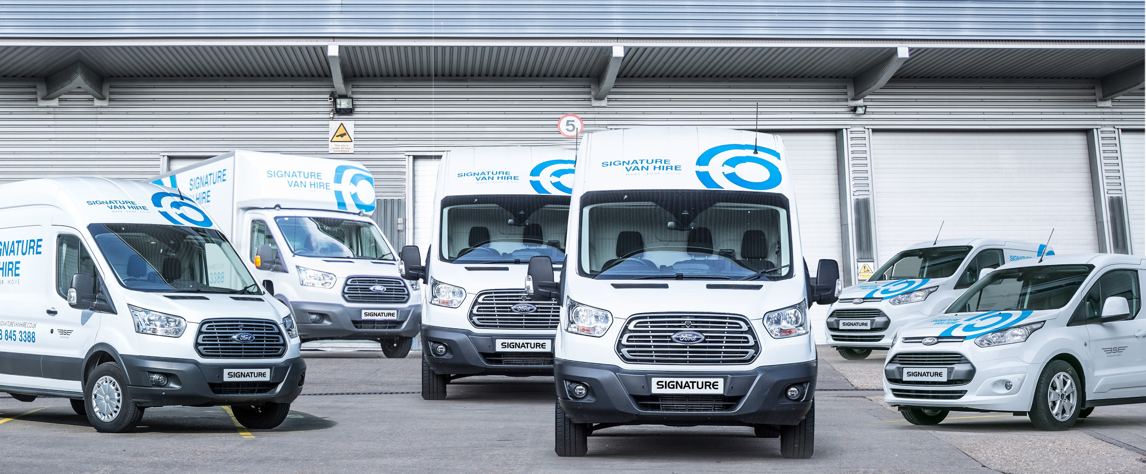 Signature Van Hire Fleet has Increased