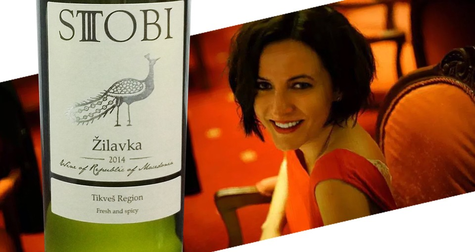 Stobi Zilvka 2014 is a favourite with Macedonian Wine Expert Ivana Simjanovska