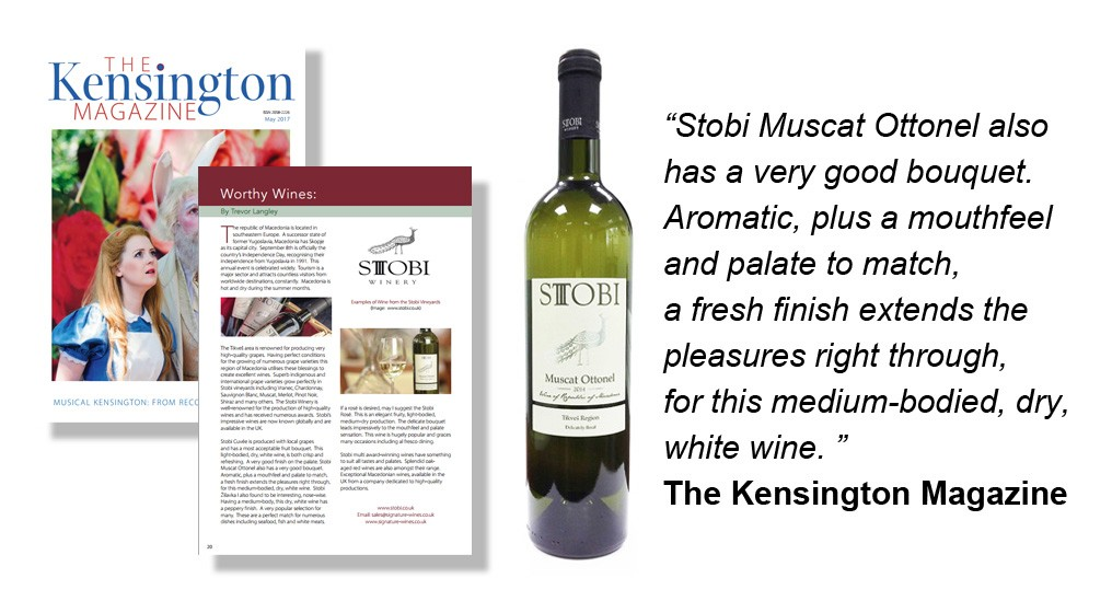 kensington-magazine-review muscat-ottonel