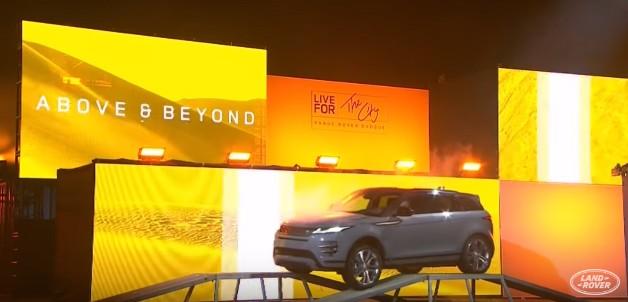 The new 2019 Range Rover Evoque