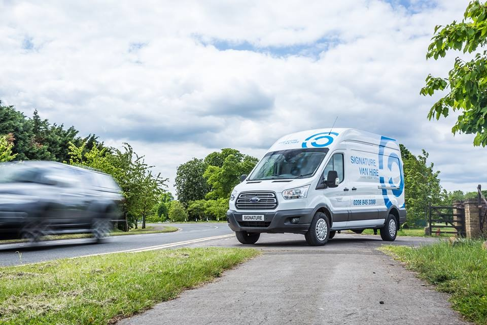 Opt for Signature Van Hire this Season