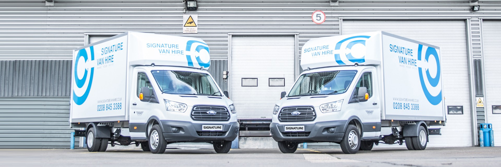 Why Rent a Luton Van from Signature Van Hire?