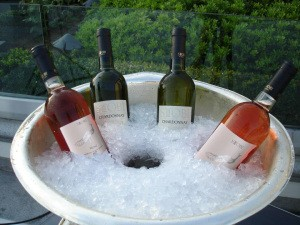 When serving White or Rose Wine……Keep it Cool!