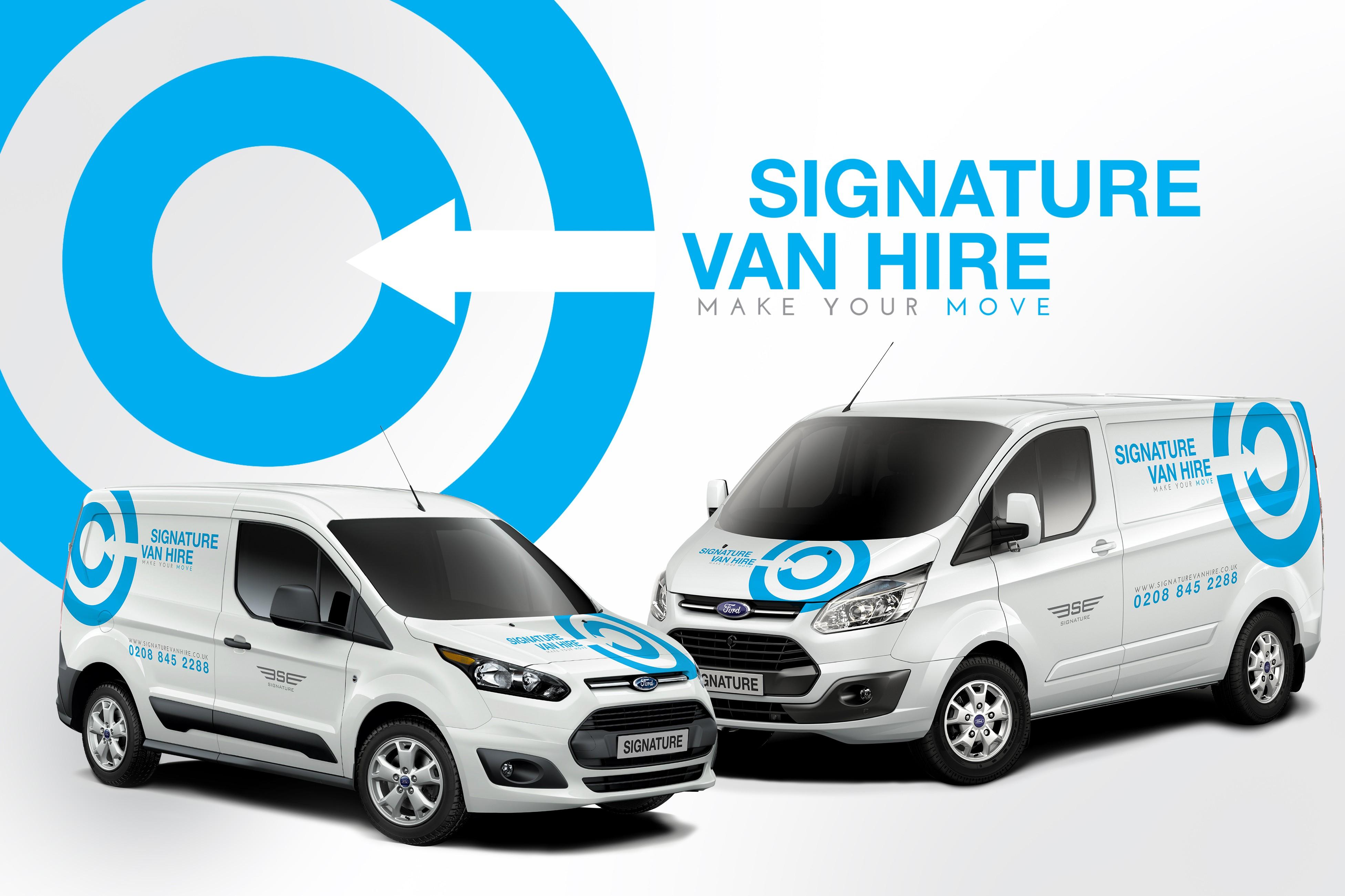 Introducing Signature Van hire