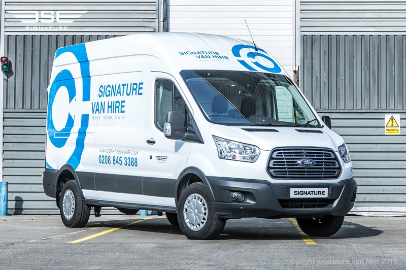 Signature Van Hire Offer Peace of Mind When Transporting High Value Goods