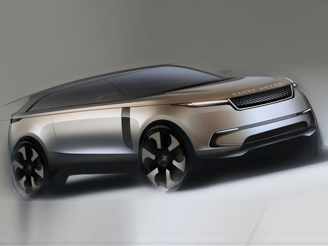 Potential New Model from Land Rover - The Road Rover