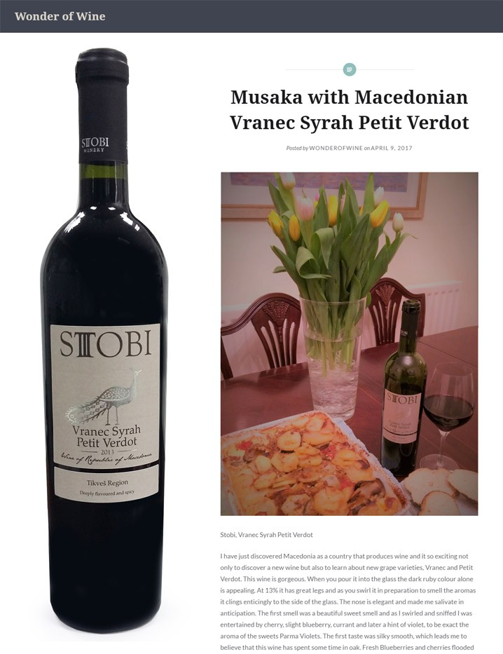 Put Stobi on your Easter table this weekend