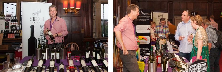 Stobi Goes Down Well at the Oxford Wine Festival