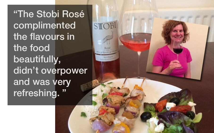 Wonder of Wine Reviews Stobi Rosé