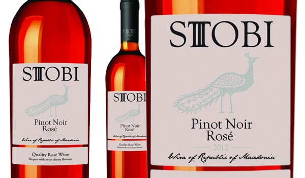 Review for our Stobi Pinot Noir Rosé