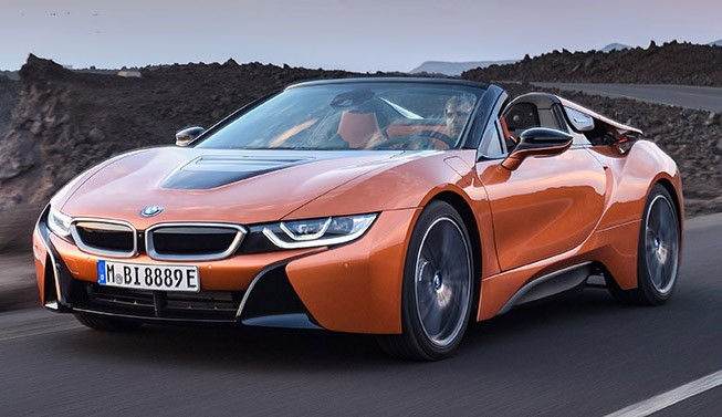 Presenting the BMW i8 Roadster