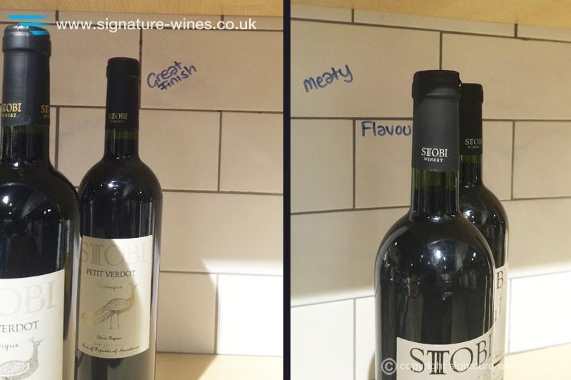 signature-wines-stobi-reds-at-wine-rack-westbyfleet-tasting