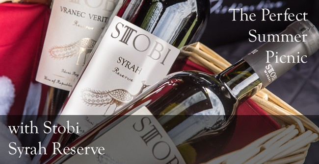 Make the most of the long summer days with a delicious picnic and Stobi Syrah