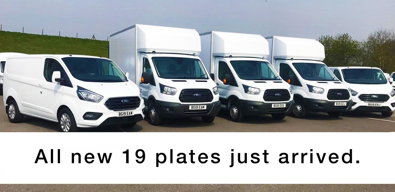 Signature Van Hire adds NEW 19 plate vans to fleet of London rental vans