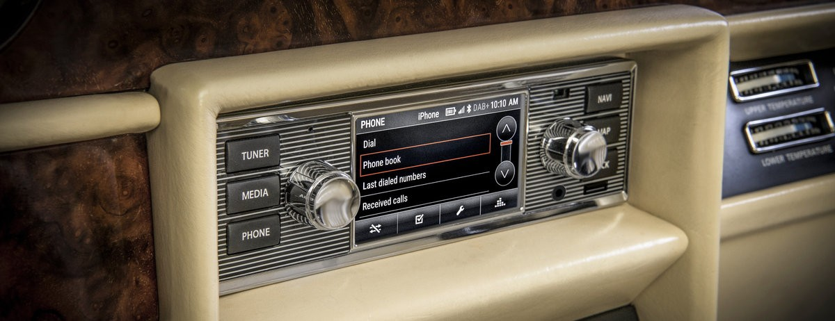 New infotainment system from Land Rover