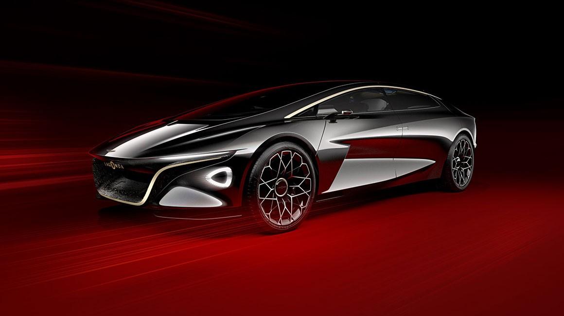 The Aston martin Lagonda Vision Concept