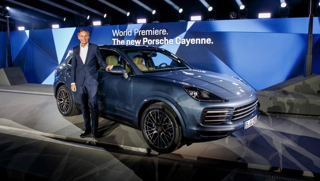 New Porsche Cayenne World Premiere