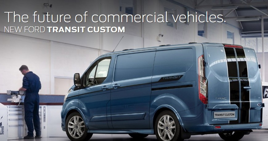 Have you heard, the new Ford Transit Custom is Coming!