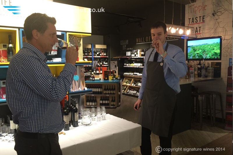 Interview with Norbert Jozsa the Wine Rack West Byfleet Store Manager