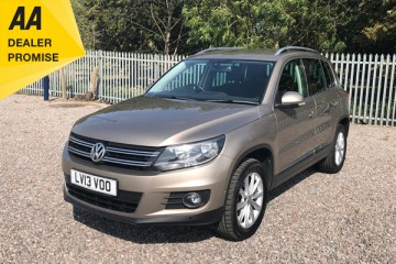 VW Tiguan SE TDI Blue Tech 4M S-A