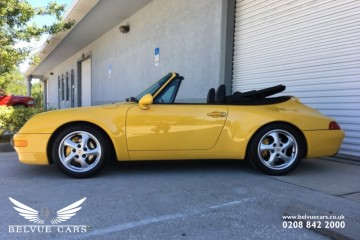 Porsche 911 (993) 1996  3.6 Carrera 2 Convertible