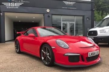Porsche 911 991 GT3 Club Sport