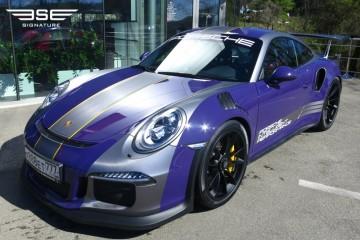 Porsche GT3RS Purple