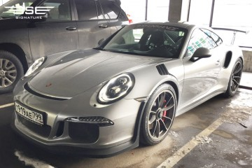 Porsche GT3RS Silver