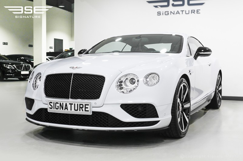Bentley Continental GT V8S Coupe
