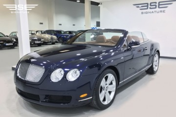 LHD Bentley GTC Convertible V12