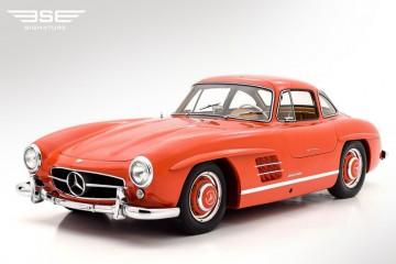 Mercedes 300SL Gullwing 1955 Red